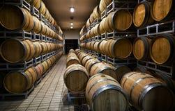 酒存贮的桶  免版税图库摄影