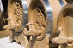 酒桶木头 免版税库存图片