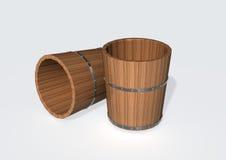 酒桶 免版税库存图片