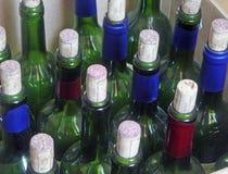 酒瓶酒 图库摄影