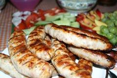 酒精和开胃菜用俄语 库存图片