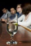 酒精棒玻璃 免版税库存图片