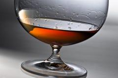 酒精玻璃 库存图片
