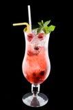 酒精cocktai寒冷 图库摄影