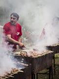 年轻酒节在第比利斯 免版税库存照片