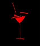 酒菜单概念飞溅向量玻璃 库存图片