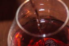 酒颜色 免版税库存图片