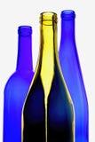 酒玻璃器皿摘要设计 图库摄影