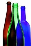 酒玻璃器皿摘要设计 免版税库存图片
