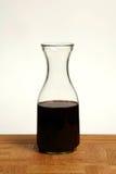 酒玻璃水瓶 图库摄影
