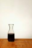 酒玻璃水瓶 免版税库存图片