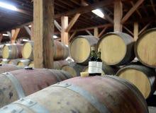 酒质量管理在酿酒厂圣丽塔的 库存图片