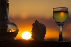 酒Dionysus的上帝的图 免版税库存照片