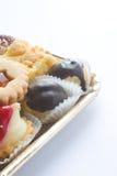 酥皮点心法式蛋糕铺 免版税库存照片
