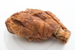 酥脆德国猪肉指关节 库存图片