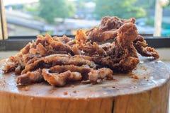 酥脆猪肉 图库摄影
