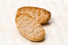 酥脆的面包 库存图片