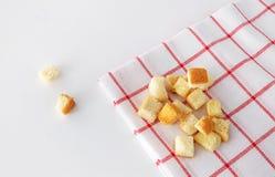 酥脆的面包 免版税图库摄影