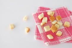 酥脆的面包 免版税库存照片