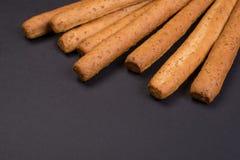 酥脆面包条 免版税库存照片