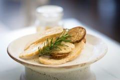 酥脆面包融合快餐 免版税库存照片