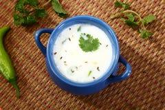 酪乳或旁遮普语Lassi,印地安饮料 库存图片