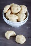 酵母小圆面包 库存图片