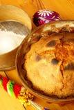 酵母酒蛋糕蛋糕复活节 库存照片