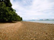 酸值朗塔泰国长滩  库存照片