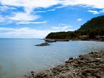 酸值朗塔海滩泰国 免版税图库摄影