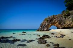 酸值沙敦府的,泰国Kai海岛 免版税库存照片