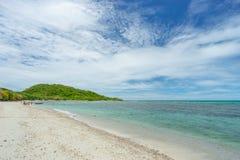 酸值西康省海岛海滩 库存照片