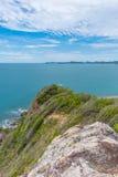 酸值西康省海岛观点 免版税图库摄影