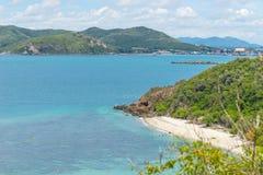 酸值西康省海岛风景 免版税库存图片