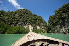 酸值洪, Krabi泰国 免版税库存图片