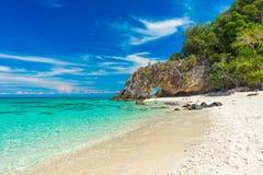 酸值Kai海岛在泰国 免版税库存照片