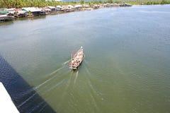 酸值kong省在泰国边界附近的柬埔寨王国 免版税库存图片