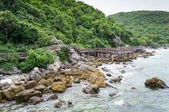 酸值Lan,芭达亚, Lan海岛 免版税库存照片