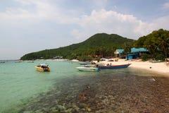 酸值Larn海岛,泰国 免版税图库摄影