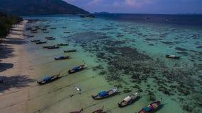 酸值Lipe海岛,泰国 免版税图库摄影