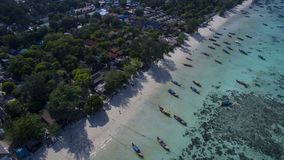 酸值Lipe海岛,泰国 图库摄影