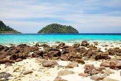 酸值Lipe海岛 库存照片