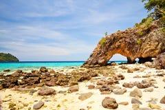 酸值Lipe海岛 库存图片
