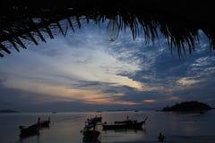 酸值lipe的泰国海 库存照片