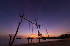 酸值Mak海岛,桐艾府,泰国 免版税库存图片
