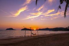 酸值Mak海岛,桐艾府,泰国 库存图片