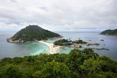 酸值Nang元海岛,泰国 库存照片