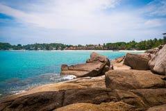 酸值Phangan海岛,泰国 图库摄影