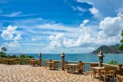 酸值Phangan海岛 泰国 库存照片