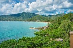 酸值Phangan海岛 泰国 图库摄影